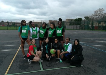 Last Netball game of the season