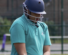 Cricket Player Portrait 001