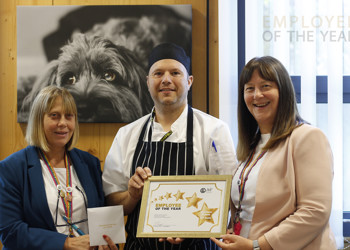 """AiP Chef awarded """"Employee of the Year!"""""""