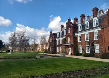 Mayfield visits Newnham College, Cambridge