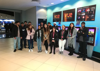 Mayfield School Students attend the Into Film Festival