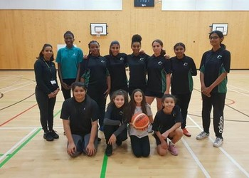 Mayfield's Under 14s Girls Basketball