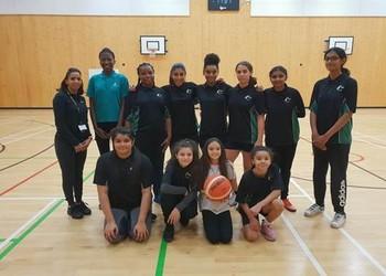 Mayfield's Under 14s Girls Basketball