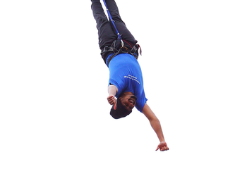 Sixth Form Bungee Jump for Charity