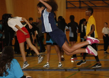 Redbridge Sports Hall Athletics